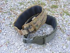 HSGI's padded belt works the same as a pack when using MOLLE compatible pouches. It puts all your gear within arms reach and puts the weight where it should be.