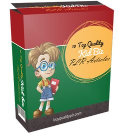 10 Top Quality Kid Biz PLR Articles - http://www.buyqualityplr.com/plr-store/10-top-quality-kid-biz-plr-articles/.  10 Top Quality Kid Biz PLR Articles  #KidBiz #KidBizPLR #PLRArticles #PLR #PLRcontent In this PLR Content Pack You'll get 10 Top Quality Kid Biz Articles with Private Label Rights to help you dominate the Business market which is a highly profitable and in-demand n....