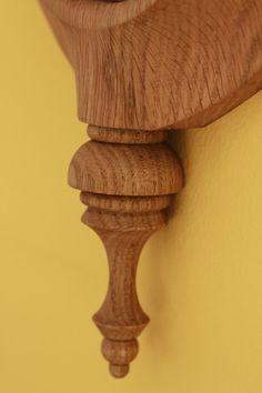 Oak handmade wooden clock, wall clock, wooden clocks, handmade clock - arteavita architecture and design studio -