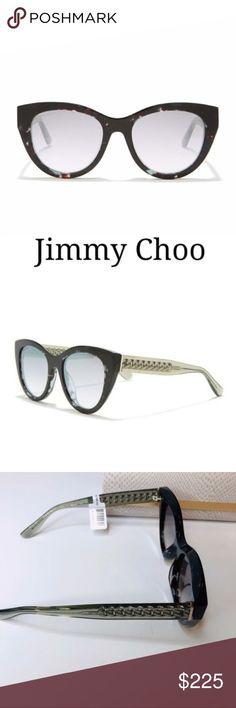 Jimmy Choo Cat Eye Sunglasses NWT Jimmy Choo Chanas 52mm Modified Cat Eye Sungla... Jimmy Choo Sunglasses, Cat Eye Sunglasses, Sunglasses Accessories, Women Accessories, Lens, Shop My, Cosmetics, Funny Minion, Klance