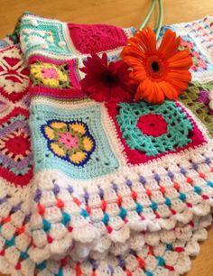 Da's Crochet Connection: Where are the 365 Granny Squares?