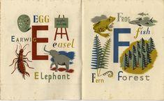 Grace Gabler, the Alphabet of Illustrators 1945