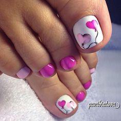 Perfect #pedicure  Agree ? Follow@fashionavigable Credit@panibratova #comment⤵⤵⤵ Check link in bio ...