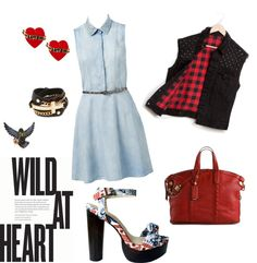 """""""Wild at heart"""" by claudia-montero on Polyvore"""