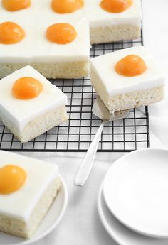 German Fried Egg Cak