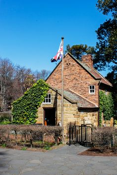 Cooks Cottage oso known as Captain Cooks Cottage is located in Fritzroy Gardens…