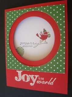 Focused on Christmas by ruby-heartedmom - Cards and Paper Crafts at Splitcoaststampers