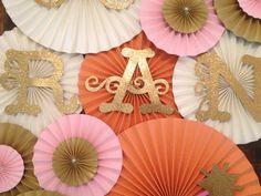 Princess Themed Paper Rosettes Princess Backdrop by LanvisB