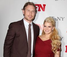 Jessica SimpsonJessica Simpson's baby daddy and fiance' is Eric Johnson, a former NFL football player.Photo: Associated Press