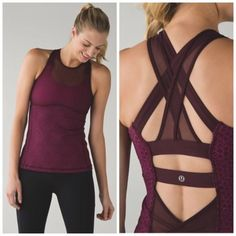 nice NWT Lululemon Ready, Set, Sweat Tank