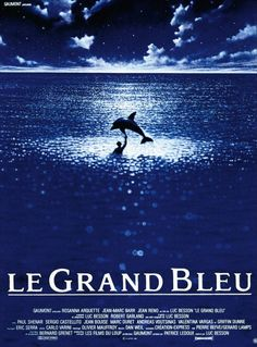 The Big Blue... the diver cult movie by Luc Besson.