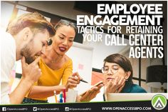 #EmployeeEngagement tactics help your #CallCenter agents stay productive, efficient, and effective. This also helps in reducing #EmployeeTurnover rates.