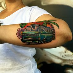 Vw Camper tattoo