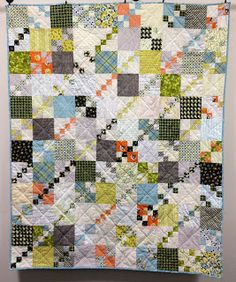 Taken Patiently: Penny Patch Quilt