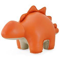 Stegosaurus Bookend Orange