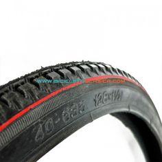 "Neumático 28"" x 1,1/2"" c/ Linea Roja"