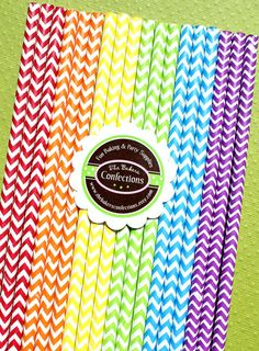 BOYS Rainbow Chevron Paper Straws - with Printable DIY Flag Toppers & Pixie Stix Recipe Use for Cake Pops and Drink Markers Rainbow Birthday Party, 30th Birthday Parties, Birthday Party Themes, Boy Birthday, My Little Pony Birthday, My Little Pony Party, Rainbow Chevron, Rainbow Art, Nerd Party