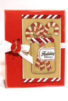 papertrey candy cane stamps - Google Search