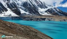 Lake tilicho, Nepal.  Highest Lake in the world