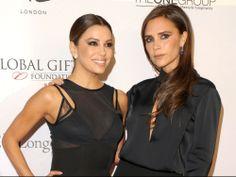 Victoria Beckham and Eva Longaria