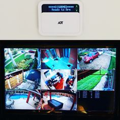 Smart home security system and high definition camera surveillance system