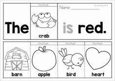 Sight Word Fluency Flip Books