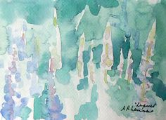 July 15, 2012 Watercolor Paintings To See! A Monhegan Island Painting!   Plein Aire in Maine