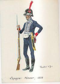 MINIATURAS MILITARES POR ALFONS CÀNOVAS: NAPOLEONIC UNIFORMS Nº 117. Ilustre pour Herbert Knötel