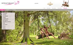 Un tronco, unas lianas y un poco de maña son suficientes para disfrutar de un divertido columpio en la nueva venta de VP summer camp en vente-privee  #venteprivee #webdesign #VPSummerCamp #juegos