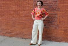 "The ""Lady of the Summer"" Ensemble - I love this 'Sisters of Edwardia Blouse,' inspired by Downton Abbey."