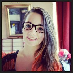 Nassassa in her first pair of glasses.  Great glasses for a gorgeous girl. Jono Hennessy 8115 c783. #specs #style #jonohennessy #fashion #fitzroy 2013 #melbourne #glasses #eyewear #retro