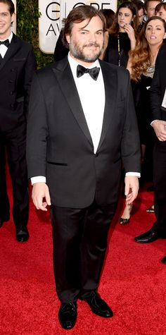 Golden Globes 2015: Red Carpet Arrivals - Jack Black from #InStyle