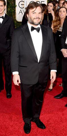 Golden Globes 2015: Red Carpet Arrivals - Jack Black from #InStyle