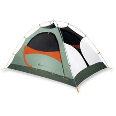 REI Camp Dome 2 backpack Tent. Weighs very little and is so compact. Great idea for hiking or taking on trips.