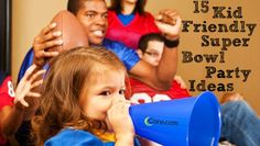 15 Kid Friendly Super Bowl Party Ideas