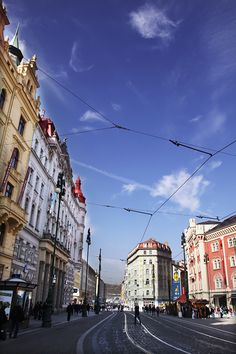 This is the exact street we stayed on when we were in Prague!