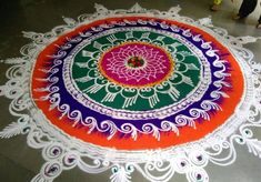 Get some of the best sanskar bharti rangoli designs in here. These best sanskar bharti rangoli designs are very popular and are made during Hindu festivals.