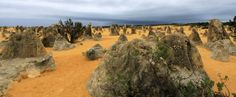 The Nambung National Park, Western Australia ( www.4-wheeling-in-western-australia.com )