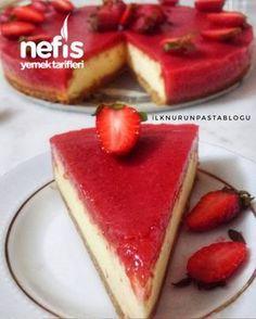 Çilekli Cheesecake (Yedikçe Yediren) #çileklicheesecake #kektarifleri #nefisyemektarifleri #yemektarifleri #tarifsunum #lezzetlitarifler #lezzet #sunum #sunumönemlidir #tarif #yemek #food #yummy