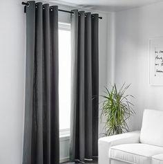 IKEA - salas com cortinas modernas