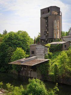 HANNOVER MISBURG Zementwerk Teutonia II