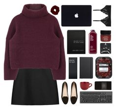 """""""and i tread a troubled track"""" by acquiescence ❤ liked on Polyvore featuring STELLA McCARTNEY, Witchery, Topshop, Ex Voto Paris, Serge Normant, Shinola, Pier 1 Imports, Monki and Zara"""