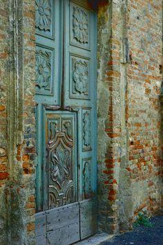 Blue door. Italy