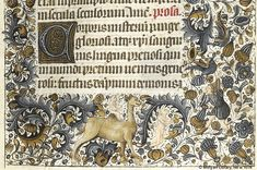 Book of Hours, MS M.854 fol. 203r - Images from Medieval and Renaissance Manuscripts - The Morgan Library & Museum