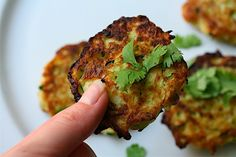 Zucchini Scallion Pancakes with Sweet Soy Dipping Sauce Recipe