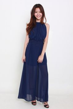 CLEO MAXI DRESS by Angel Biba available from www.bellablizz.com