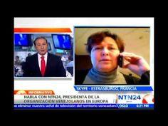 Habla con NTN24 presidenta de la organización Venezolanos en Europa