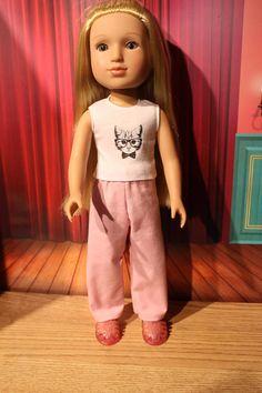 2 Faux Suede Headbands Moss Green /& Lt Pink fits American Girl Dolls