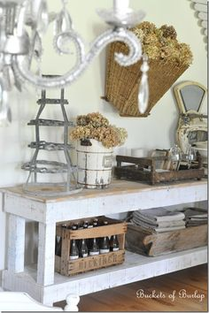 Love Everything About This Vintage Farmhouse Decor More Farmhouse