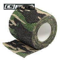 Airsoft Tactical 4.5M Camo Stretch Bandage Adhesive Elastic Multifunctional…